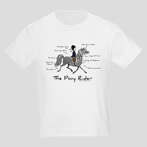 Pony Rider Equestrian Kids Light T-Shirt
