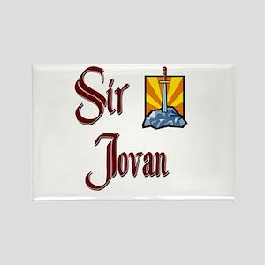 Sir Jovan Rectangle Magnet