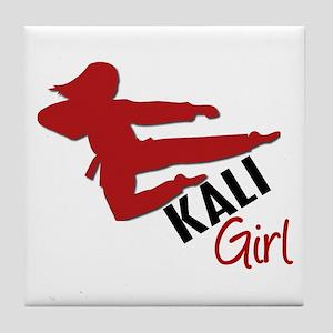Kali Girl Tile Coaster