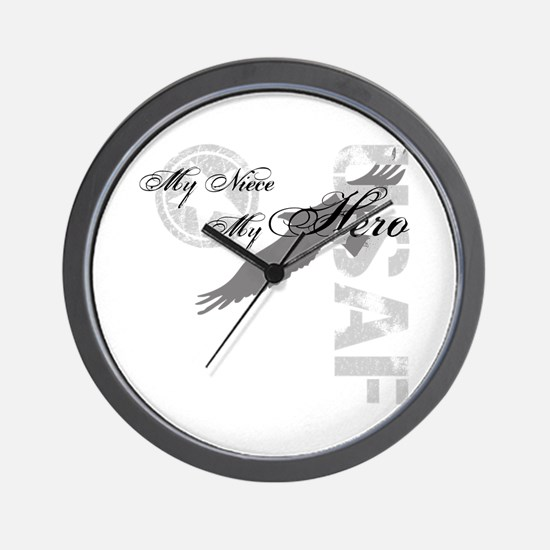 My Niece My Hero USAF Wall Clock
