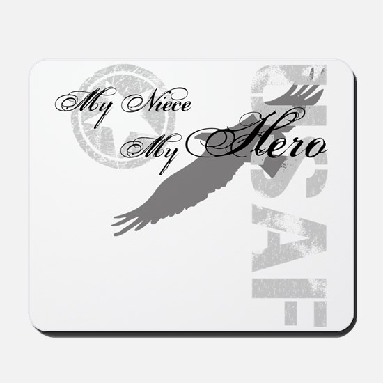 My Niece My Hero USAF Mousepad