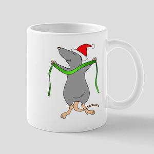 Christmas Rat Hug Mug
