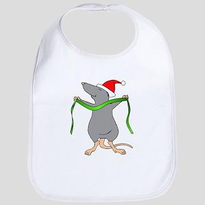 Christmas Rat Hug Bib