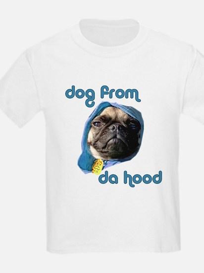 Dog from da Hood Kids T-Shirt