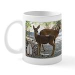 Deer and Fawns Mug