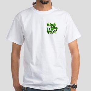 High Run White T-Shirt