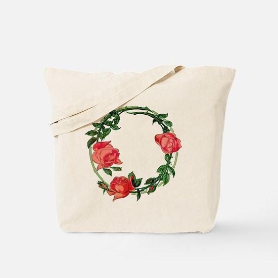 ART NOUVEAU ROSES Tote Bag