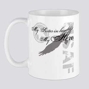 My Sister-in-law My Hero USAF Mug