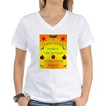 Composting Women's V-Neck T-Shirt
