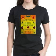 Composting Women's Dark T-Shirt