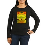 Composting Women's Long Sleeve Dark T-Shirt
