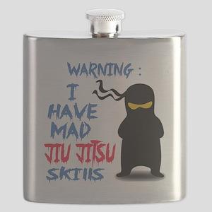 I have mad Jiu-Jitsu skills Flask
