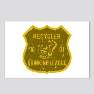 Recycler Drinking League Postcards (Package of 8)