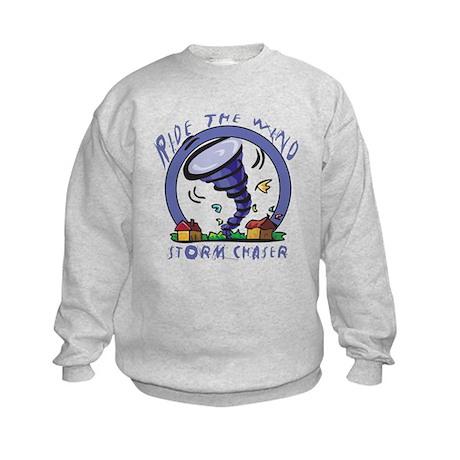 Ride the wind Kids Sweatshirt