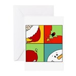 christmas fun Greeting Cards (Pk of 10)