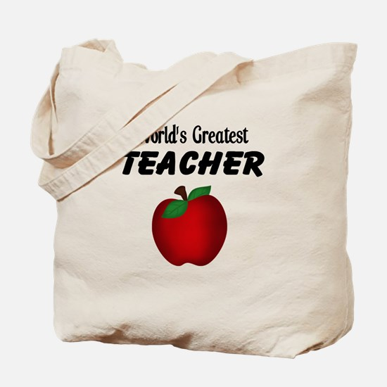 World's Greatest Teacher Tote Bag