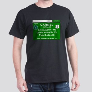 HIGHWAY 1 SIGN - CALIFORNIA - CARMEL - OCE T-Shirt