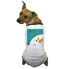 xmas merry Dog T-Shirt
