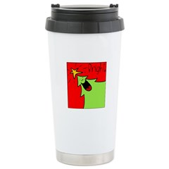 XMAS bright Stainless Steel Travel Mug
