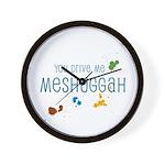 Meshuggah Wall Clock