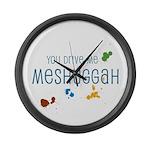 Meshuggah Large Wall Clock