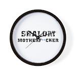 Shalom Motherf**cker Wall Clock