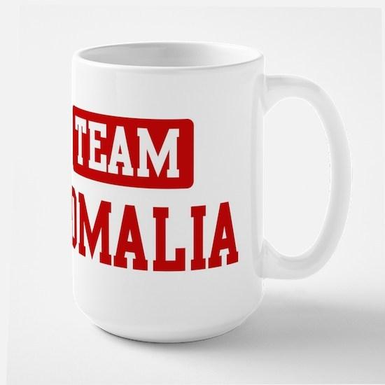 Team Somalia Large Mug