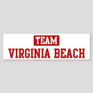 Team Virginia Beach Bumper Sticker