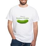 I have a Kosher Pickle White T-Shirt