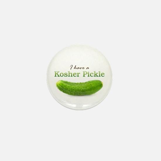 I have a Kosher Pickle Mini Button