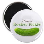 I have a Kosher Pickle Magnet