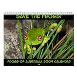 Frogs of Australia 2009 Wall Calendar