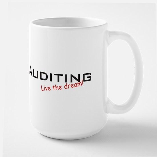 Auditing / Dream! Large Mug