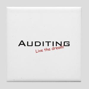 Auditing / Dream! Tile Coaster
