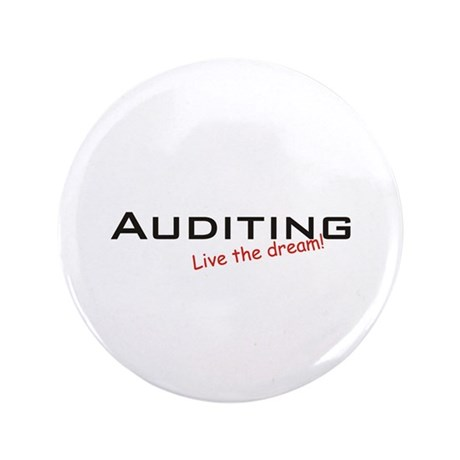 """Auditing / Dream! 3.5"""" Button"""