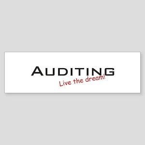 Auditing / Dream! Bumper Sticker