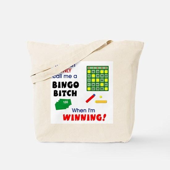 Bingo Bitch #1 Tote Bag