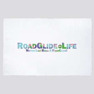 RoadGlide.Life 4' x 6' Rug