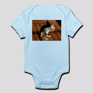 Sit or Lie Tabby Kitten Infant Creeper