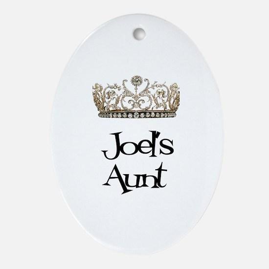 Joel's Aunt Oval Ornament