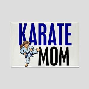 Karate Mom (OF GIRL) 3 Rectangle Magnet