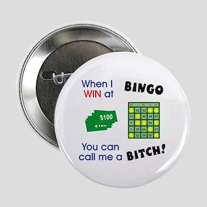 Bingo Bitch #2 Button