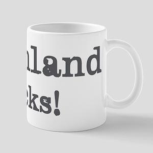 Greenland rocks Mug
