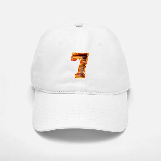 Lucky #7 Baseball Baseball Cap