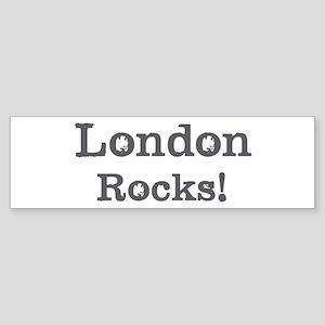 London rocks Bumper Sticker