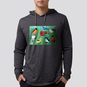 Bird Gathering Long Sleeve T-Shirt