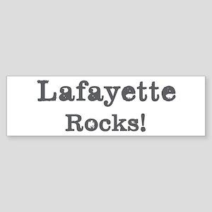 Lafayette rocks Bumper Sticker