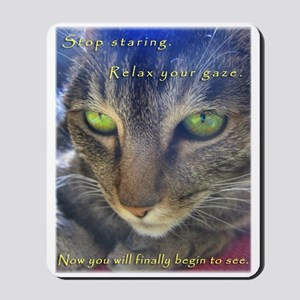 Relax and See Abby Mousepad