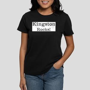 Kingston rocks Women's Dark T-Shirt