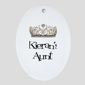 Kieran's Aunt Oval Ornament